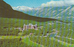 Main Street and Cascade Mountain Banff Alberta Canada