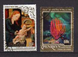 Penrhyn Scott N° 205.211a Oblitérés  (220) - Penrhyn