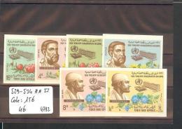 YEMEN  - No Michel 529-534  ** ( SANS CHARNIERE  )   NON DENTELES  -  COTE:  15 € - Yemen