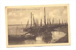 France, Picardie, Somme (80) Le Crotoy, Le Port Et L'estacade - Le Crotoy