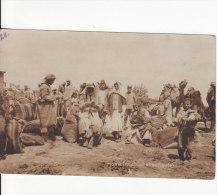 Carte Postale Photo De HOMS (Syrie) Arabische Kaufleute - MARCHE - Marchand-Commerçant Arabe- - Syrien