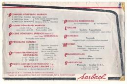Chalaronne - Laboratoire Sarbach - La Gamme Complete - état Moyen - Chemist's