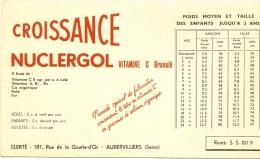 NUCLERGOL Vitamine C Croissance   ...... Laboratoire ELERTE Aubervilliers - Chemist's
