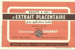 Pharmacie  Soluté à 50% Extrait Placentaire     ...... Laboratoires Chibret - Chemist's