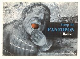 Buvard Publicitaire Pharmacie - Laboratoire ROCHE Paris 4e - Sirop PANTO - Chemist's