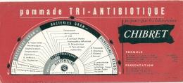 BUVARD Pharmacie - Pommade TRI-ANTIBIOTIQUE  Laboratoire Chibret - Chemist's