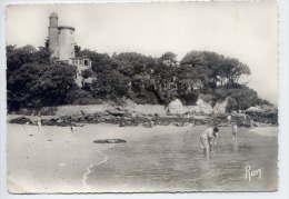 NOIRMOUTIER EN L'ILE--Vue Sur L'Anse Rouge Et La Tour Plantier (animée) ,cpsm N° 3 éd Chapeau--jolie Carte - Noirmoutier