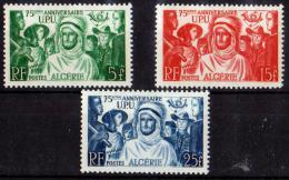 ALGERIE 1949 N° 276/78 NEUFS * COTE 11.60 EUROS - Algérie (1924-1962)