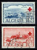 ALGERIE 1952 N° 300/01 OBLITERES COTE 9 EUROS - Nuevos