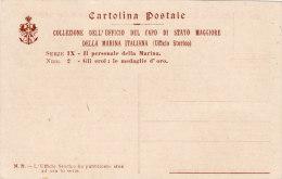 MARINA MILITARE / Cartolina Postale Collezione Dell'Ufficio Del Capo Di Stato Maggiore - Guerra