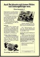 Reklame Werbeanzeige  ,  Eden Margarine  -  Auch Sie Könnten Sich Besser Fühlen..... ,  Von 1968 - Andere Sammlungen