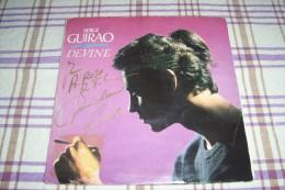 SERGE GUIRAO °  AUTOGRAPHE SUR VINYLE 45 TOURS - Autogramme
