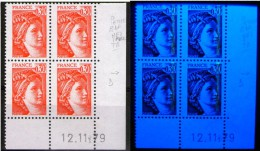 Sabine 1968**_Petites Bandes Phospho ROSES Aux UV (???)_sur Bout De Nez_12/11/79 - 1970-1979
