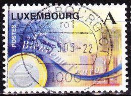 Luxemburg 1999 Einführung Des Euro Gestempelt Michel 1469 - Gebruikt