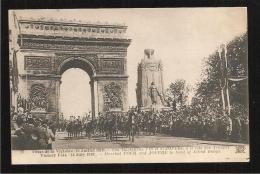 Les Fetes De La  Victoire  Maréchal Foch - Guerra 1914-18