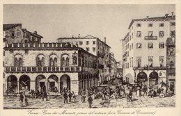 [DC8279] VERONA - CASA DEI MERCANTI PRIMA DEL RESTAURO (ORA CAMERA DI COMMERCIO) - Old Postcard - Verona