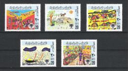 Libyen 1979 Mi# 717-721 ** MNH Jahr Des Kindes - Libyen