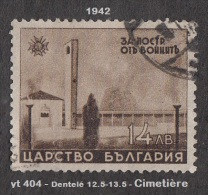 1942 - Europe - Timbre De Bulgarie - Cimetière Militaire - 14 L. Sépia - - WW2