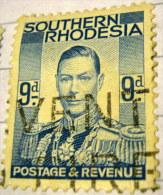 Southern Rhodesia 1937 King George VI 9d - Used - Zuid-Rhodesië (...-1964)