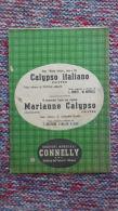*SPARTITO - CALYPSO ITALIANO - MARIANNE CALYPSO - - Spartiti