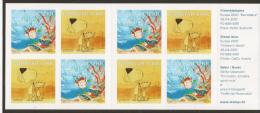 """THE FAEROES  ISLANDS  - EUROPA 2010 - ANNUAL  THEME  """" CHILD BOOKS"""".- BOOKLET Of  FOUR SETS Of  2 PERFORATED - 2010"""