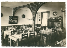 CPSM 29  ABERWRACH HOTEL BELLEVUE LA SALLE A MANGER - France