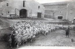 ROQUEFORT - LA SORTIE DU TROUPEAU - BELLE CARTE TRES TRES ANIMEE -  TOP !!! - Breeding