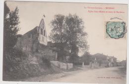 MOISSAC église Saint MARTIN Et Route De BORDEAUX - Moissac