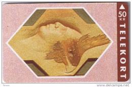 Denmark, TS 006I, Relief Series - Nr 9 Of 16, Mint 50 Kr, Only 2.500 Issued. - Dänemark