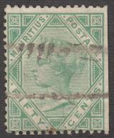 Mauritius 1879  50c  SG 99 Used - Mauritius (...-1967)