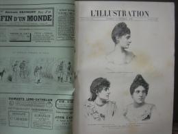 L'ILLUSTRATION 2399 MEYERLING / CARAN D'ACHE / CHINKIANG/ SAMOA/  RUSSIE  16/02/1889 - Journaux - Quotidiens