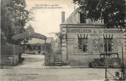 41 CELLETTES - HOSTELLERIE DE LA CHAUMIERE ( HOTEL CONFORT - TABAC - AUTOMOBILE ) - France