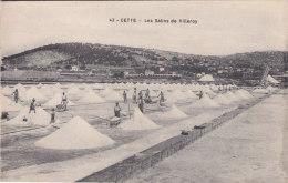 ¤¤  -    43  -  CETTE  -  SETE   -  Les Salins De VILLEROY  -  Récolte Du Sel  -  Saulniers   -  ¤¤ - Sete (Cette)