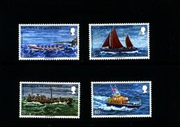 GUERNSEY - 1974  ROYAL NATIONAL LIFEBOAT  SET   MINT NH - Guernsey
