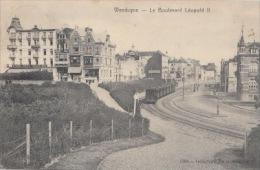 Wenduine    Boulevard Leopold II   Tram Train   Trein Goederen          Scan 5016 - Wenduine