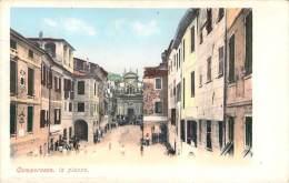 Italie - Camporosso - La Piazza (colorisée) - Autres Villes