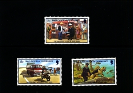 GUERNSEY - 1980  POLICE  FORCE  SET   MINT NH - Guernesey