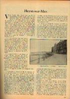 Dans « Touring  Club De Belgique» 15/08/1932 : « HEYST-SUR-MER» - Kranten