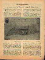 Dans « Touring  Club De Belgique» 15/12/1932 : « Le Manoir De La Motte à CAPPELLE-SAINT-ULRIC» - Kranten