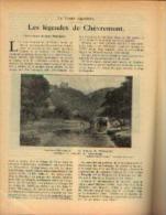 Dans « Touring  Club De Belgique» 15/03/1931 : « Les Légendes De CHEVREMONT» - Kranten