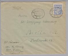 Heimat Bahn Ventpils-Riga 1926-07-30 Brief Nach Berlin - Lettonie