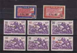TOGO  1944  N° 228 / 35    Neuf  X / Xx  Serie Compl. - Ungebraucht