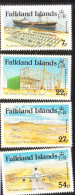 Falkland Islands 1985 Mount Pleasant Airport Opening Airplane MNH - Falkland