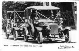 Napier Wedding Car  -  1921   -  Pamlin Prints Real Photo Postcard   -  CP - PKW