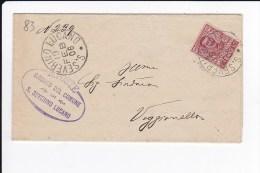 Storia Postale - Lettera - Sindaco Del Comune Di S. Severino Lucano  - Viaggiata 1906 - Storia Postale