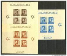 MABE4-L4084TBH.Maroc.Maro Co..MARRUECOSESPAÑOL.BENE FICENCIA. General Franco. 1938 (Ed 4/6**)SIN CHARNELA. .MGNIFICAS - Blocs & Hojas