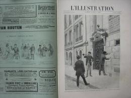 L'ILLUSTRATION 2423 GENERAL BOULANGER/ SORBONNE/ SCHAH DE PERSE/ COMBATS DE COQS  3 Aout 1889 - Journaux - Quotidiens