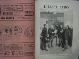 L'ILLUSTRATION 2428 TELEPHONE/ POMPIERS/ GRANDES MANŒUVRES/ EXPOSITION  7 Septembre 1889 - Journaux - Quotidiens