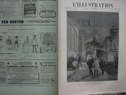 L'ILLUSTRATION 2430 ELECTIONS/ EXPOSITION/ MANŒUVRES/ MARINE/ MONACO  21 Septembre 1889 - Journaux - Quotidiens