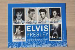 M1 ++ MICRONESIE 2011 ELVIS PRESLEY SHEET  BLUE MNH ** - Micronesië